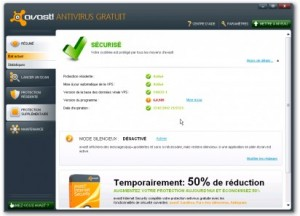 Interface Avast 6