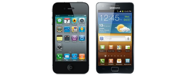 Forfait Galaxy SII et iPhone 4S