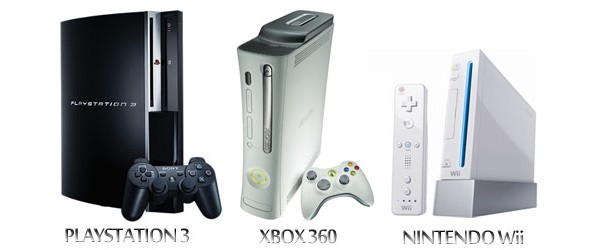 Comparatif des consoles de salon   Xbox 360 Vs  PS3 Vs  WiiXbox 360 Vs Ps3 Vs Wii