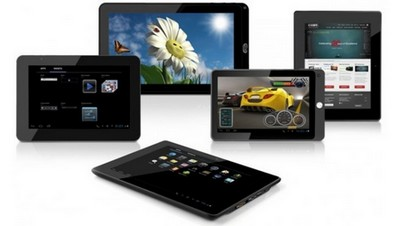 Tablettes tactiles : Tendances 2012