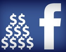 Facebook : 1 Milliard de chiffre d'affaires en un trimestre!