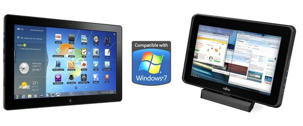 Tablettes sous Windows 7 : Samsung Slate Vs. Fujitsu Stylistic