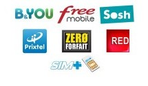 Comparatif forfaits mobiles Low-Cost sans engagement 2012