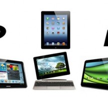 iPad Vs. Android : Comparatif 6 tablettes tactiles Full HD