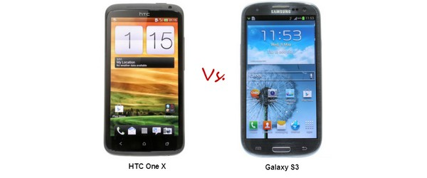 Meilleur Smartphone Android : HTC One X Vs. Samsung Galaxy S3
