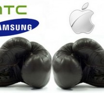 Samsung & HTC Vs. Apple : Une guerre 4G