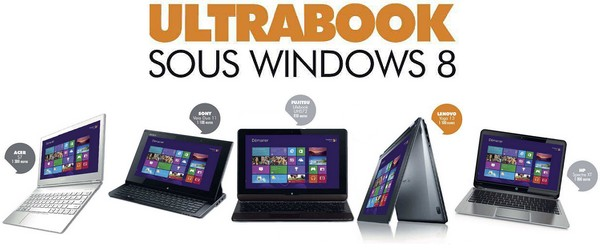 Comparatif PC Portables 2013 : UltraBooks sous Windows 8