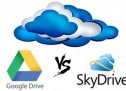 Comparatif Cloud 2013 : Google Drive Vs Microsoft SkyDrive
