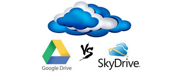 Google Drive Vs Microsoft SkyDrive : Comparatif Cloud