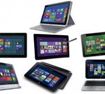 Comparatif 2013 des tablettes tactiles sous Windows 8
