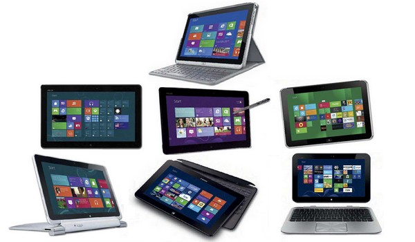 Comparatif 2013 des tablettes tactiles x86 sous Windows 8