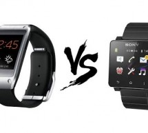 Comparatif montres intelligentes : Galaxy Gear Vs SmartWatch